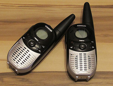 pair-of-walkie-talkies
