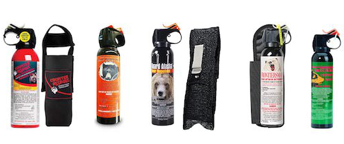 bear spray deterrents