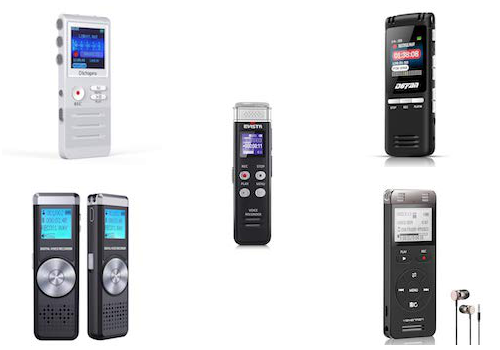 best voice activated recorders