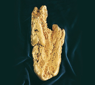 Hand of Faith - Gold nugget