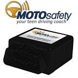 MOTOsafety OBD GPS Tracker Device with 3G GPS Service Locator, Real-Time Teen Driving Coach, GPS Tracking & Vehicle Monitoring System, MPVAS1