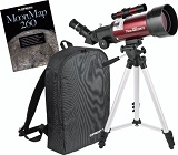 Orion 10034 GoScope II 70mm Refractor Travel Telescope