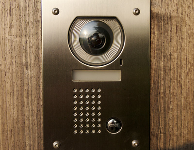 peephole camera for door